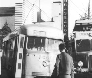 streetcar accident Ambassador Theatre Baltimore                 Liberty Hgts Ave 1940