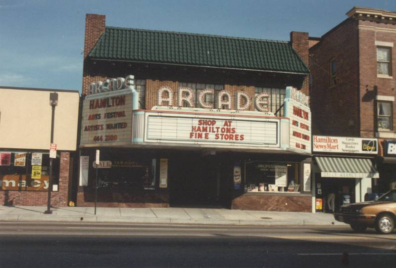 Arcade Theatre Baltimore 1980's