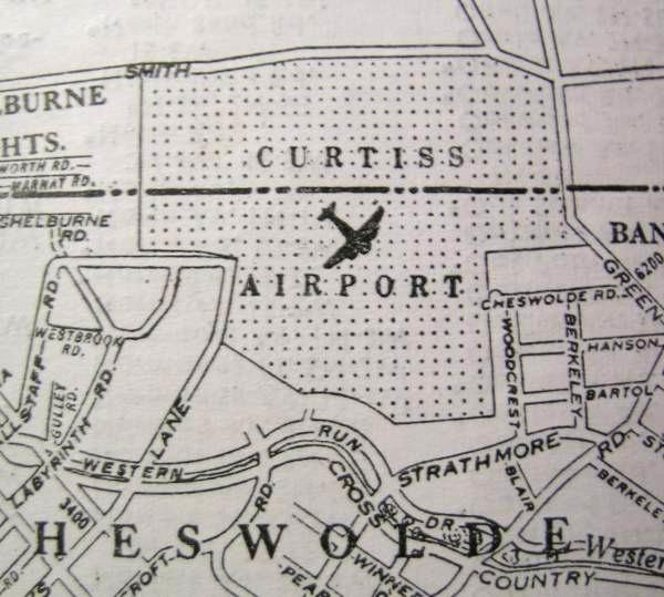 Curtiss Airport, Baltimore