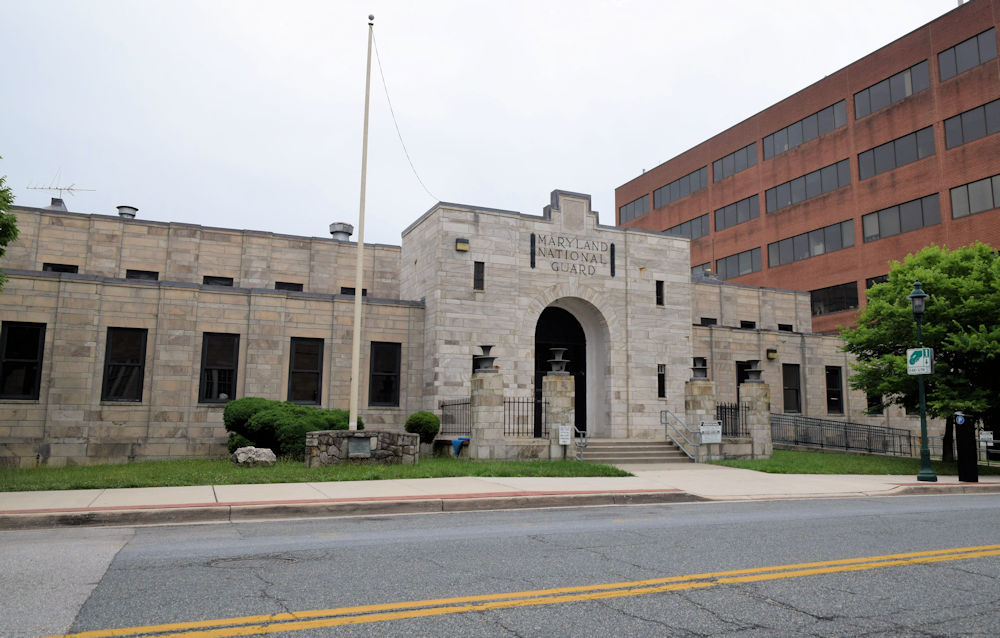 Armory Building Towson Maryland