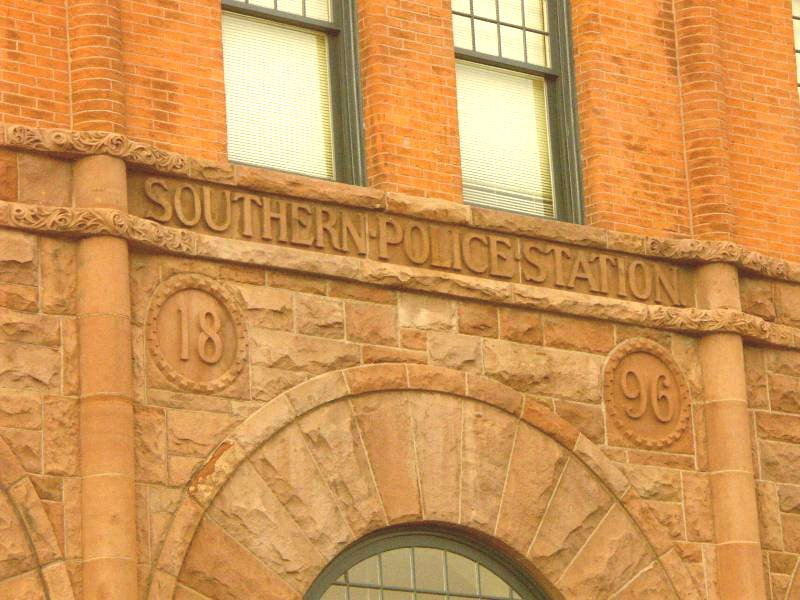 Southern District Police Station Baltimore