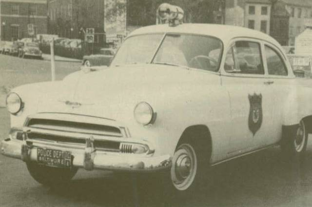 1950s Baltimore Police Car