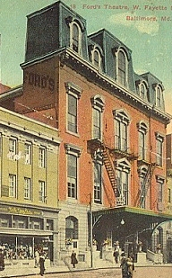 Ford's               Theatre Baltimore