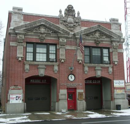 Baltimore firehouse Park Heights Avenue
