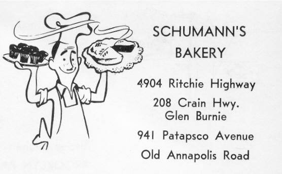 Schumann's Bakery Baltimore