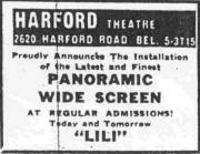 Harford Theater Baltimore Ad