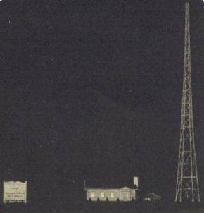 WBAL Broadcast Towers 1920s'