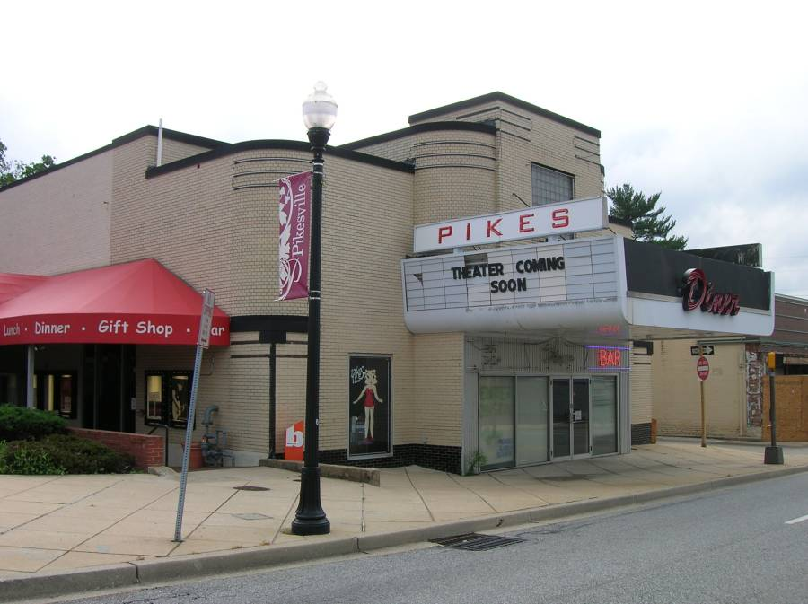 Pikes Theatre Pikesville Baltimore Maryland                       2013