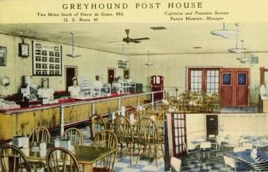 Greyhounnd Post House Habvre de Grace Maryland