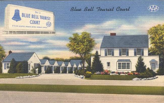 lue Bell Tourist Court Aberdeen Maryland