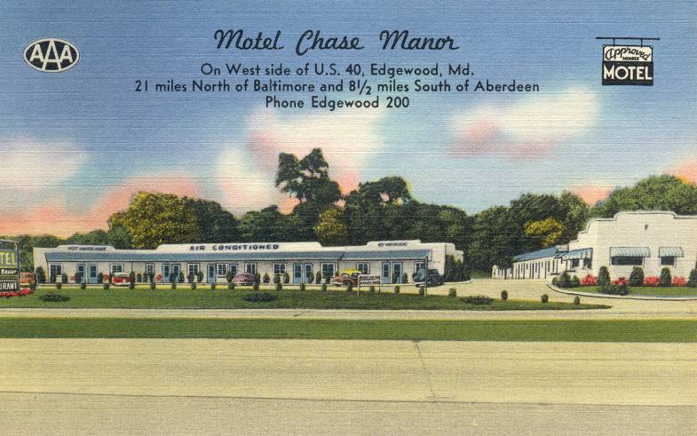Chase Manor Motel Maryland