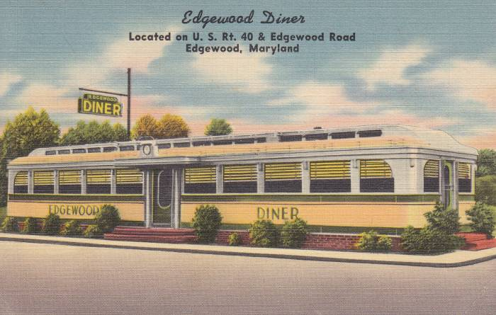 Edgewood                 Diner Maryland