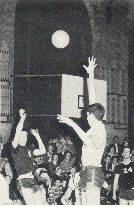 Boys Latin Basketball 1960's Baltimore