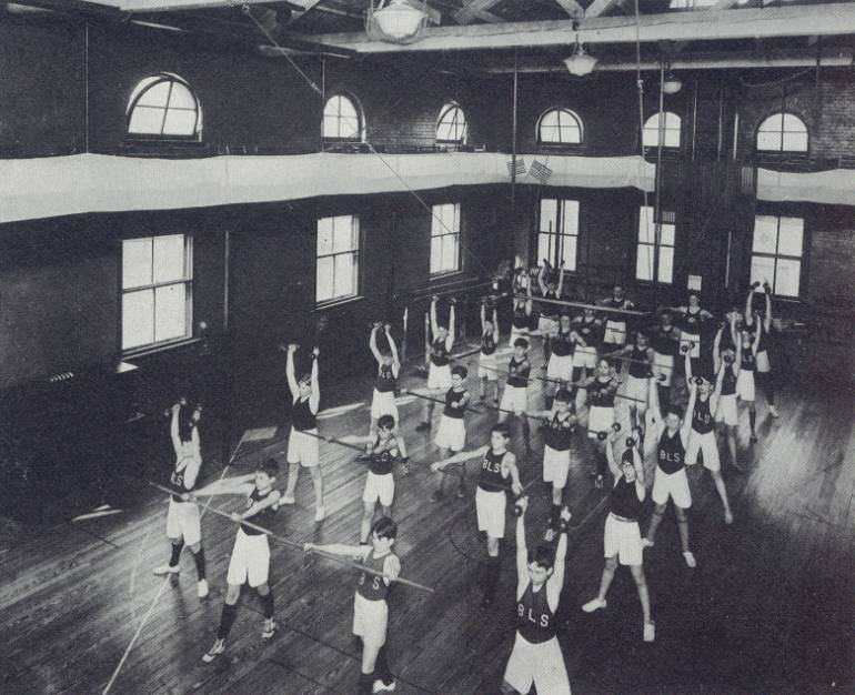 Brevard Street Boys Latin Gym