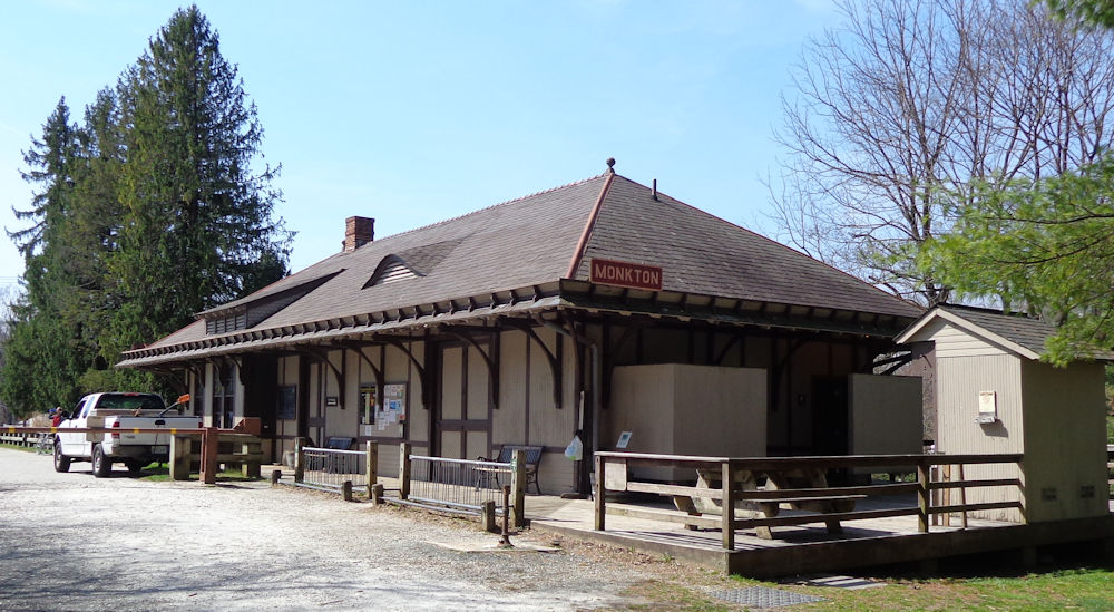 Monkton Maryland Train                 Station