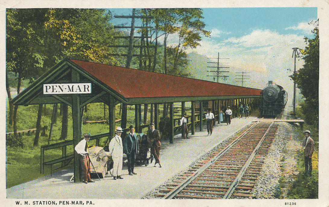 Pen Mar Maryland Train Station