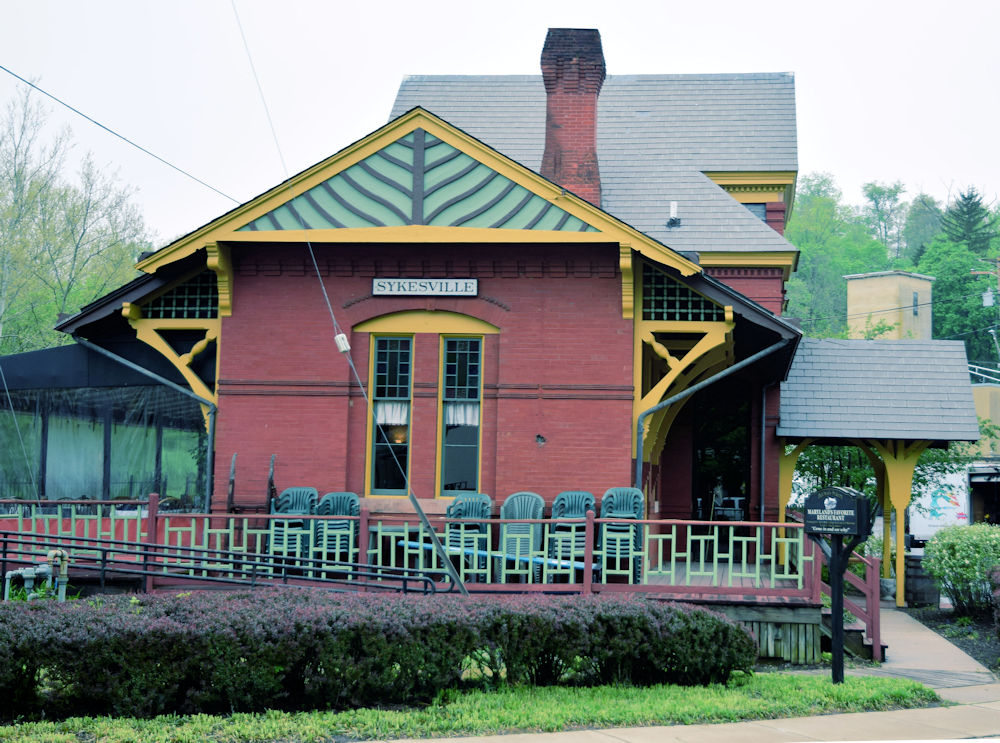 Sykesville Maryland Train Station