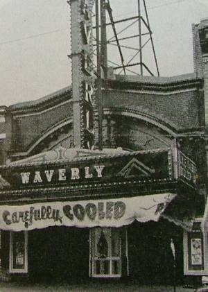 Waverly Movie Theatre Baltimore Maryland