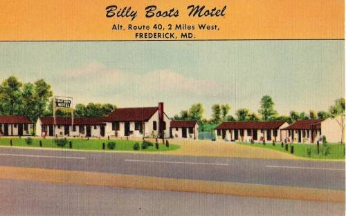 Billy Boots Motel, Frederick Maryland