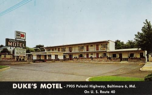 Dukes                 Motel Baltimore Rt 40