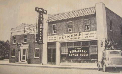 Hutner's Restaurant Aberdeen Maryland Pulaski                 Highway Rt 40 Maryland