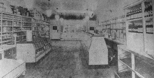 St Paul , Baltimore 1930s food store