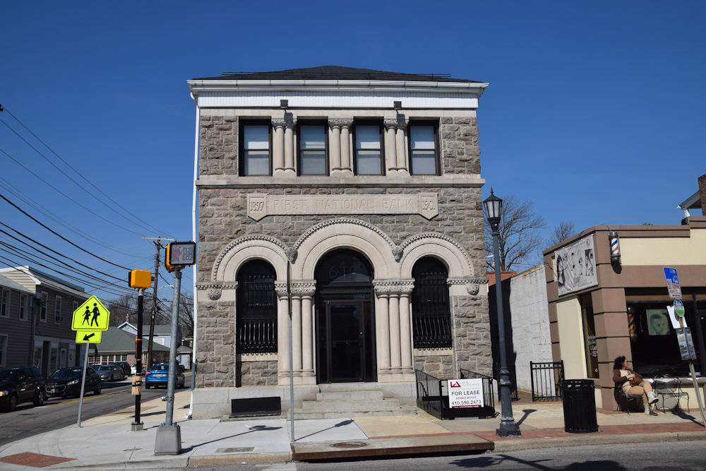 First National Bank                 Catonsville Maryland