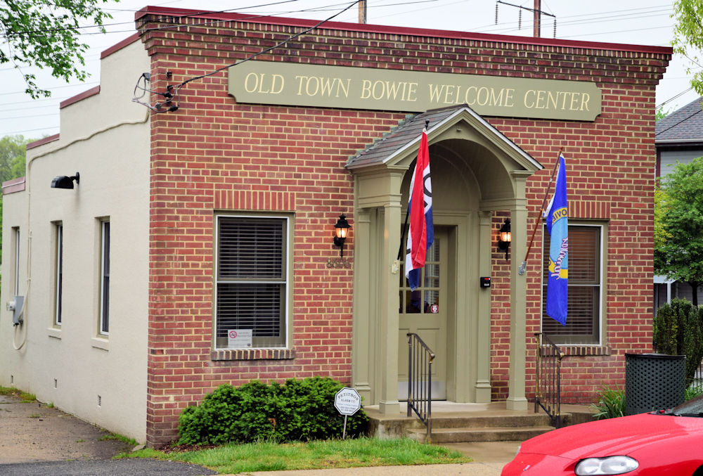 Old Bowie Maryland Bank