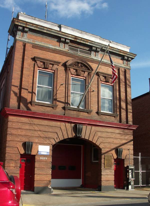 Baltimore Firehouse Greenmount Avenue