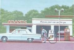 Atlantic Gas Station , Baltimore