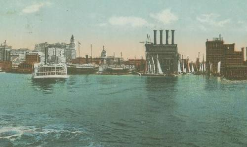 Baltimore Harbor steamboats
