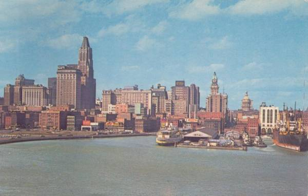 Baltimore Harbor Circa 1963