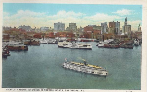 Baltimore Harbor 1931
