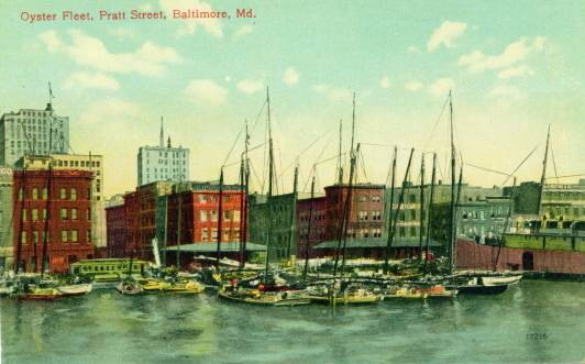 Oyster Fleet Baltimore Maryland