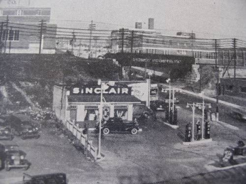 Sinclair Gas Station Baltimore 25th Street and Kirk               Avenue