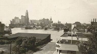 Baltimore Harbor 1940