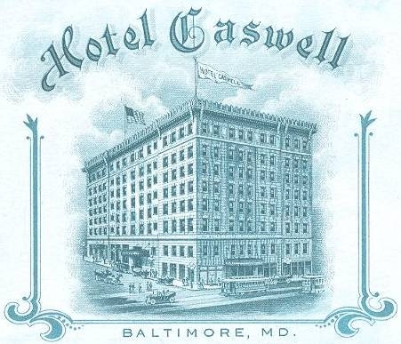 Caswell Hotel, Baltimore